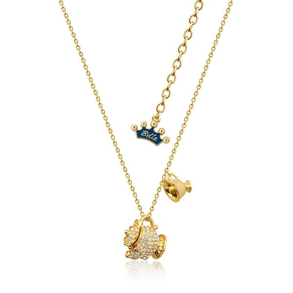 Disney Beauty and the Beast Mrs Potts Necklace - Disney Jewellery