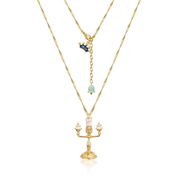Disney Beauty and the Beast Lumiere Necklace