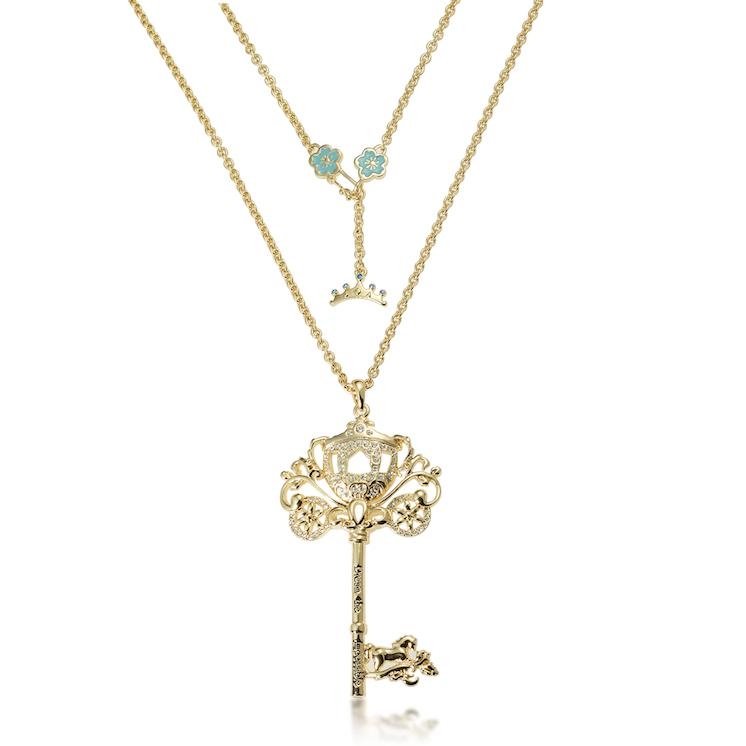 Disney Princess Cinderella Key Necklace - Disney Jewellery