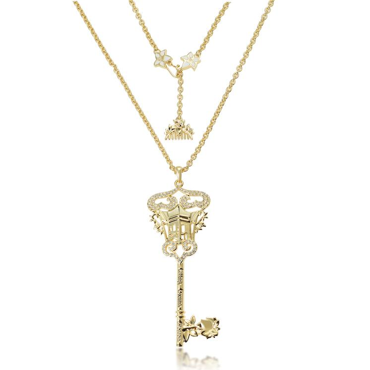 Disney Princess Mulan Key Necklace - Disney Jewellery