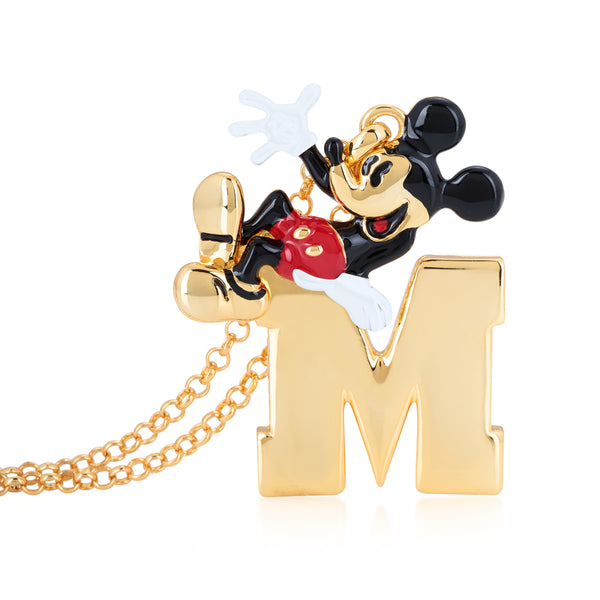 Disney Mickey Mouse Necklace - Disney Jewellery