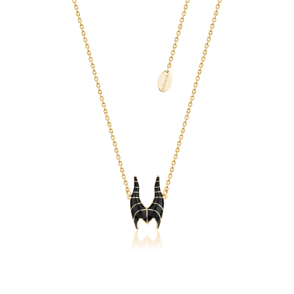Disney_Sleeping_Beauty_Maleficent_Necklace_Yellow_Gold_Couture_Kingdom_DYN600