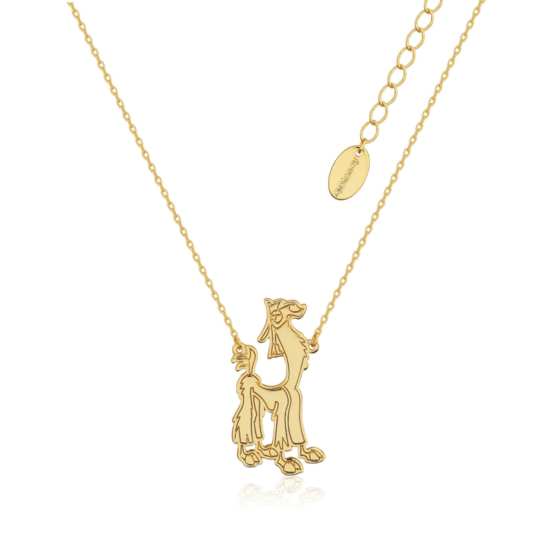DYN665_Disney_Couture_Kingdom_Emperors_New_Groove_Kuzco_Llama_Necklace