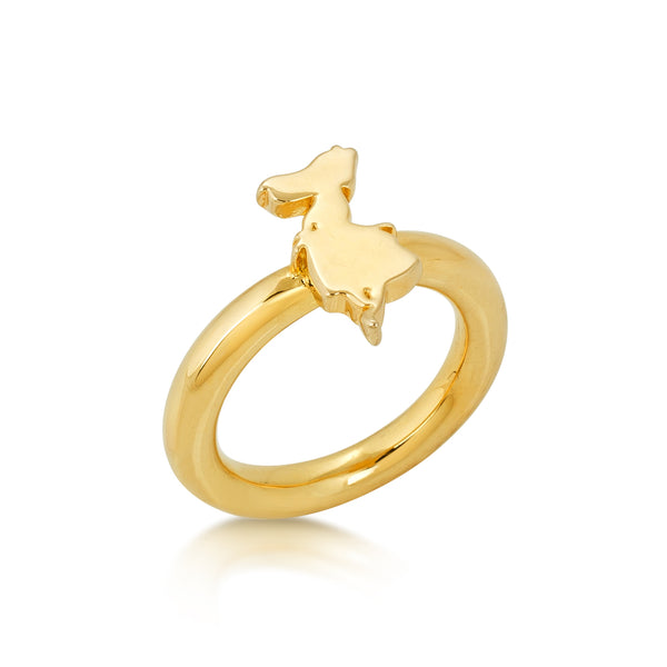 Disney Alice in Wonderland Signature Ring - Disney Jewellery