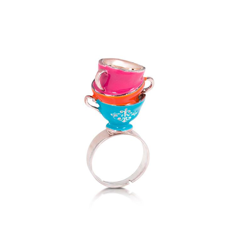 Disney Alice in Wonderland Tea Cup Ring - Disney Jewellery