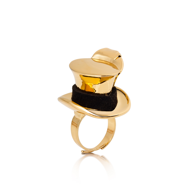 Disney Alice in Wonderland Mad Hatter Ring