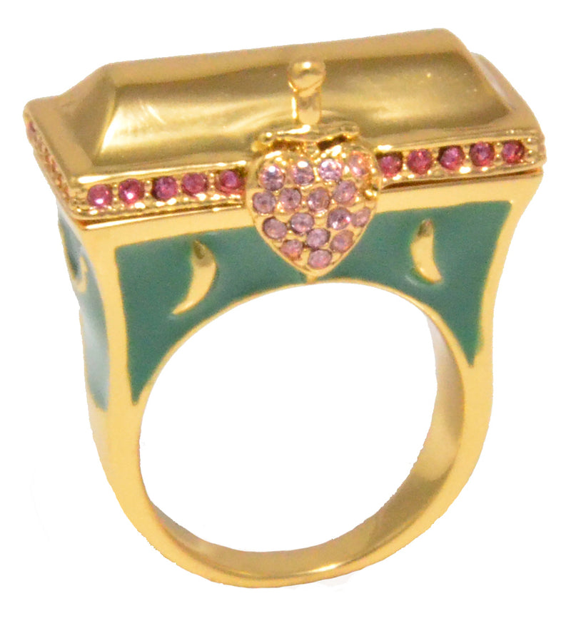 Disney Snow White Heart Box Ring