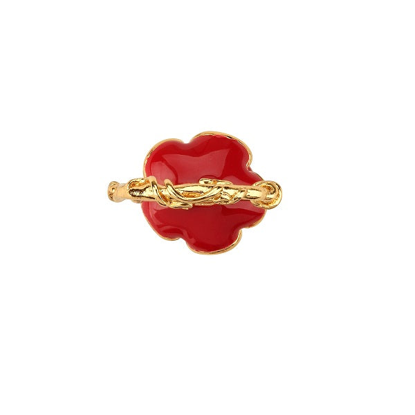 Disney Beauty and the Beast Enchanted Rose Ring - Disney Jewellery