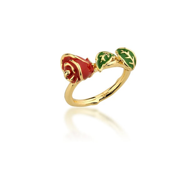 Disney Beauty and the Beast Rose Ring - Disney Jewellery