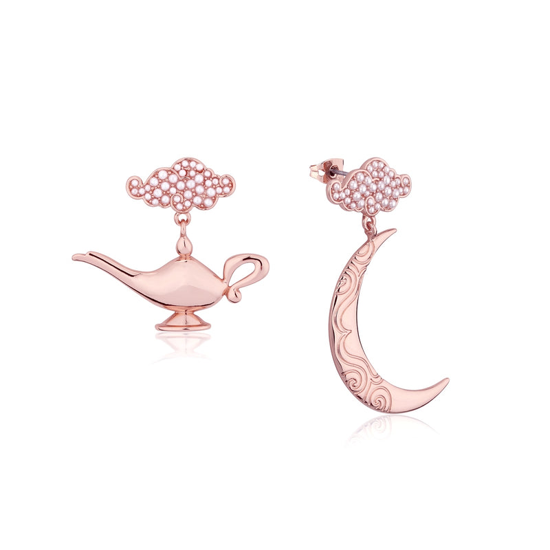 Disney-Aladdin-Genie-Lamp-Earrings-Rose-Gold-Jewellery-by-Couture-Kingdom-DRE554