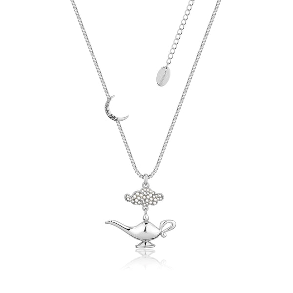 Disney-Aladdin-Genie-Lamp-Necklace-White-Gold-Jewellery-by-Couture-Kingdom-DSN554