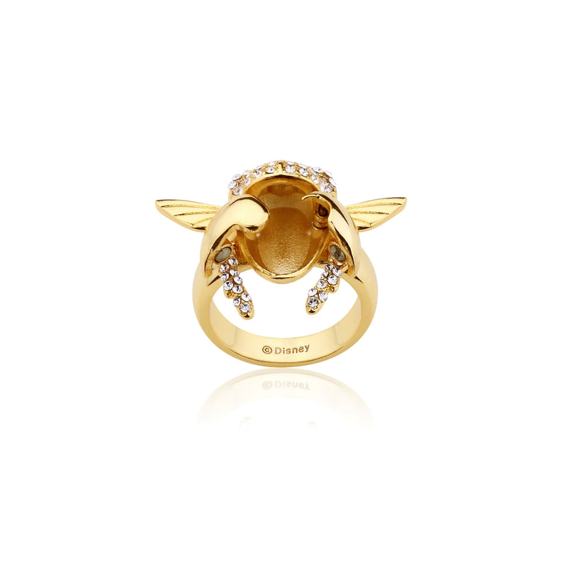 Disney-Aladdin-Golden-Scarab-Ring-Open-view-Yellow-Gold-Jewellery-by-Couture-Kingdom-DYR556