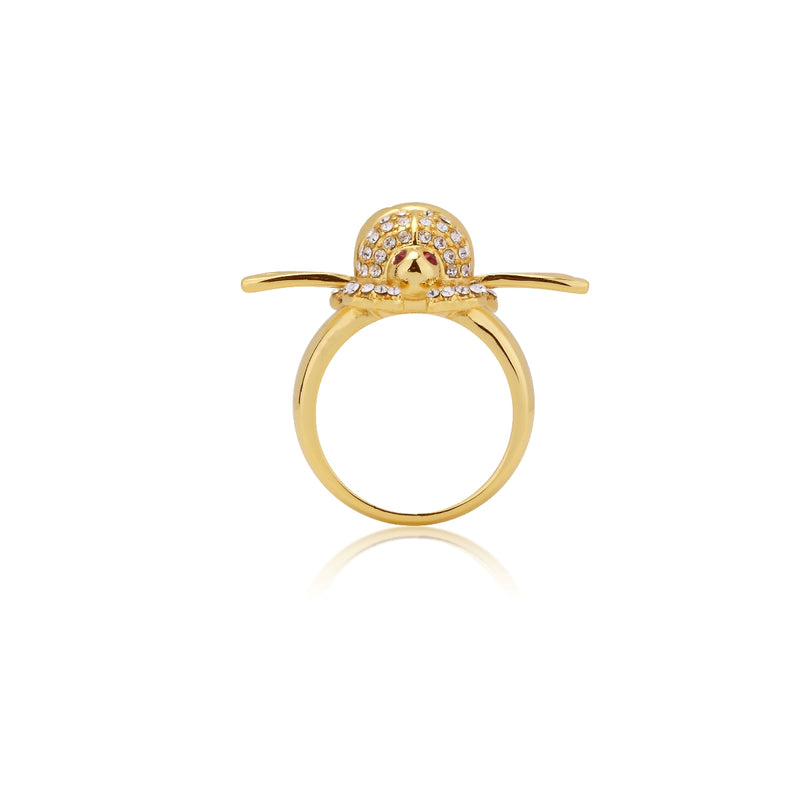 Disney-Aladdin-Golden-Scarab-Ring-side-view-Yellow-Gold-Jewellery-by-Couture-Kingdom-DYR556