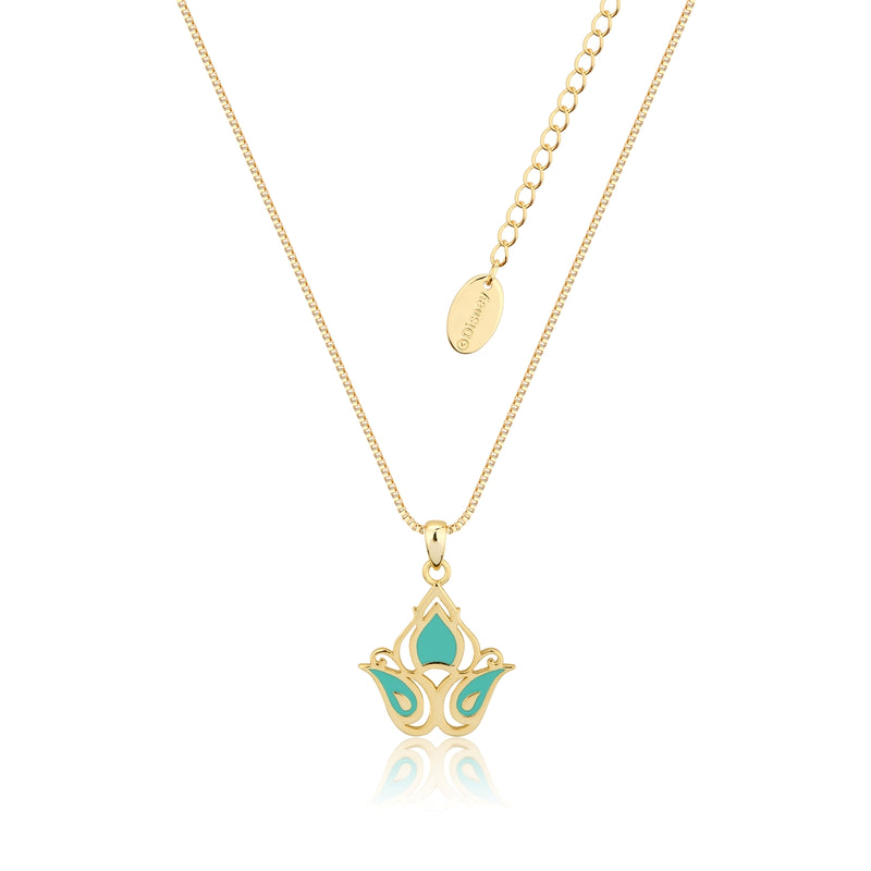 Disney-Aladdin-Princess-Jasmine-Necklace-Yellow-Gold-Jewellery-by-Couture-Kingdom-DYN588