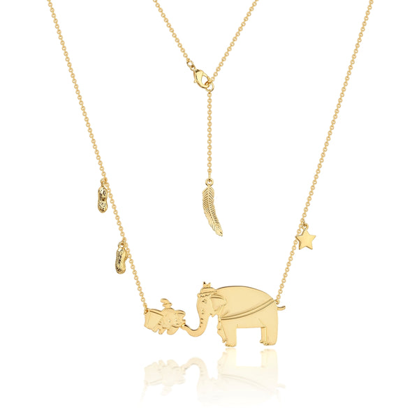 Disney-Dumbo-Mrs-Jumbo-necklace-yellow-gold-jewellery-jewelry-by-couture-kingdom-official-DYN474