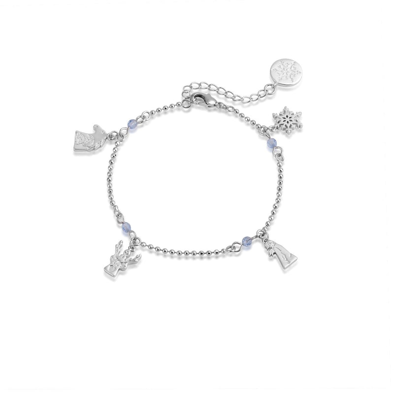 Disney-Frozen-Charm-Bracelet-white-gold-crystal-Couture-Kingdom-DFBR150