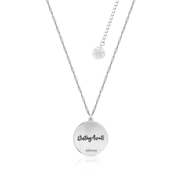 Disney-Frozen-Elsa-Nokk-Necklace-Destiny-Awaits-White-Gold-Couture-Kingdom-Back-View-DFN139
