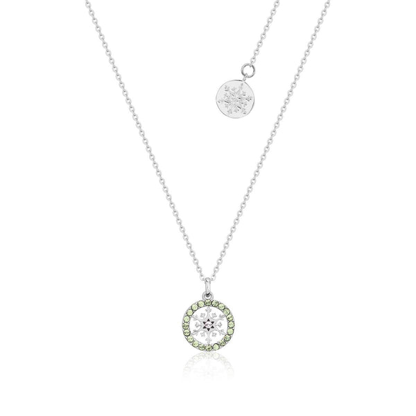 Disney-Frozen-Snowflake-August-Birthstone-Crystal-Necklace-Sterling-Silver-Couture-Kingdom-SSDFN008