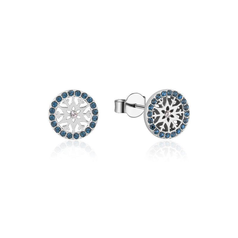 Disney-Frozen-Snowflake-December-Crystal-Birthstone-Stud-Earrings-Sterling-Silver-Couture-Kingdom-SSDFE012
