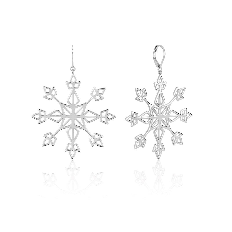 Disney-Frozen-Snowflake-Earrings-white-gold-couture-kingdom-DFE149