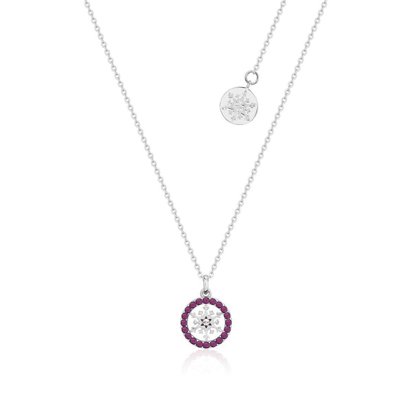 Disney-Frozen-Snowflake-February-Birthstone-Crystal-Necklace-Sterling-Silver-Couture-Kingdom-SSDFN002