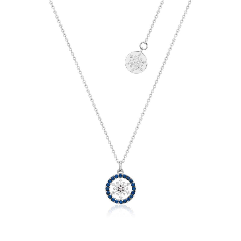 Disney-Frozen-Snowflake-September-Birthstone-Crystal-Necklace-Sterling-Silver-Couture-Kingdom-SSDFE009