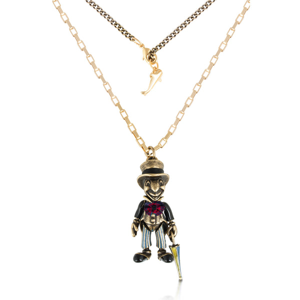 Disney Jiminy Cricket Necklace - Disney Jewellery