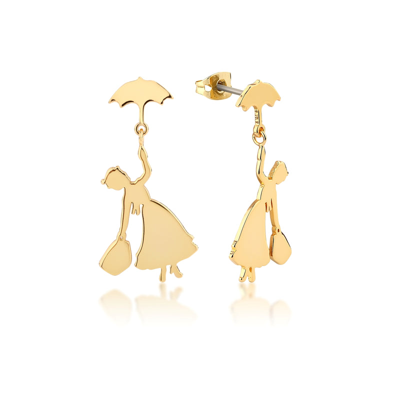 Disney Mary Poppins Flying Umbrella Drop Earrings - Disney Jewellery