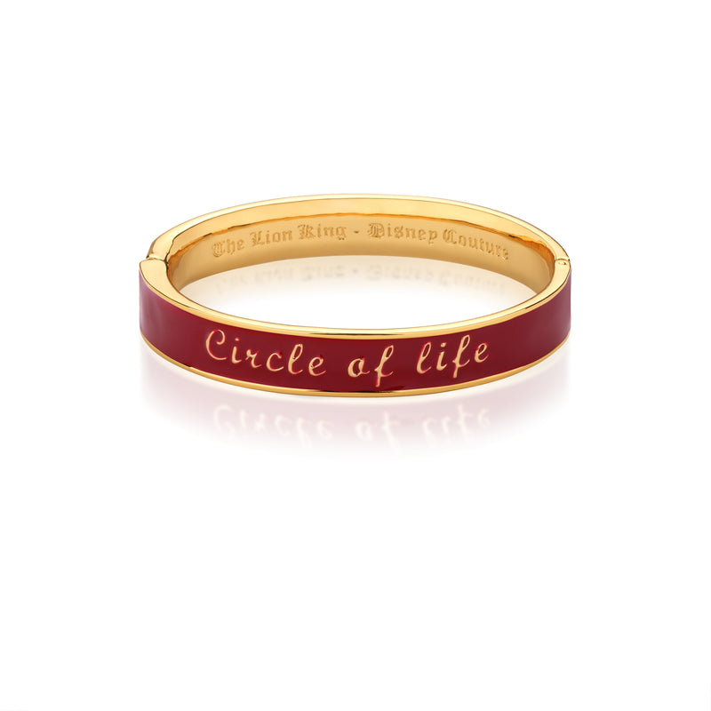 Disney-The-Lion-King-Circle-Of-Life-Bangle-Yellow-Gold-Couture-Kingdom-DLB105
