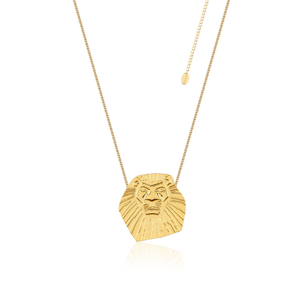 Disney-The-Lion-King-Simba-Yellow-Gold-Necklace-DLN102
