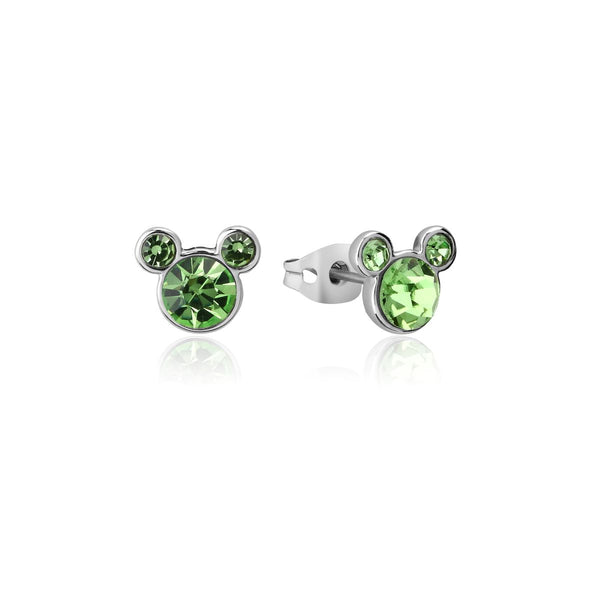 Disney ECC Mickey August Birthstone Stud Earrings