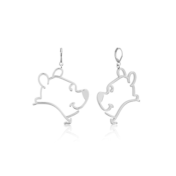 Disney_Couture_Kingdom_Winnie_The_Pooh_White_Gold_Drop_Earrings_DSE1012