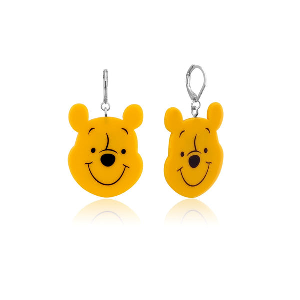 Disney_Couture_Kingdom_Winnie_The_Pooh_White_Gold_Drop_Earrings_DSE1028