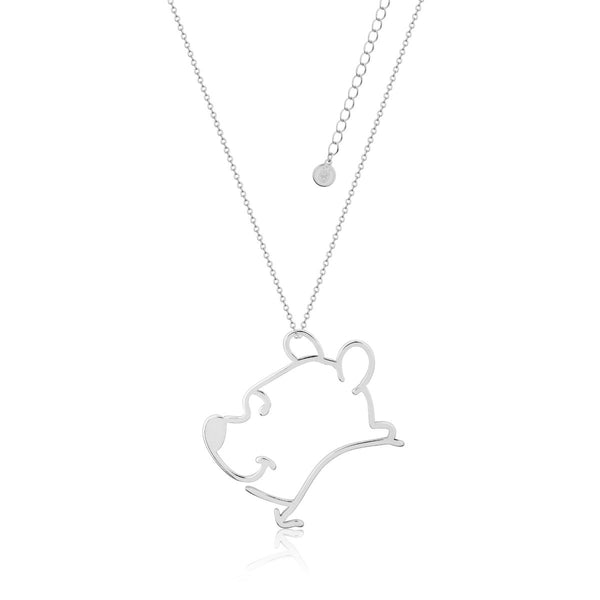 Disney Winnie the Pooh Outline Necklace