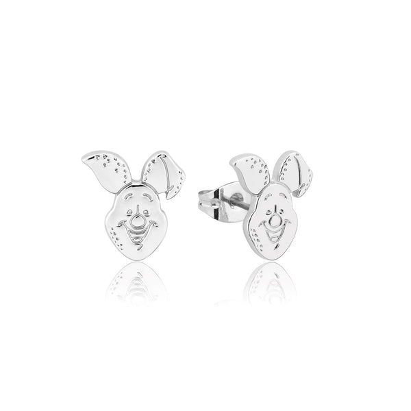 Disney_Couture_Kingdom_Winnie_The_Pooh_White_Gold_Piglet_Stud_Earrings_DSE1022