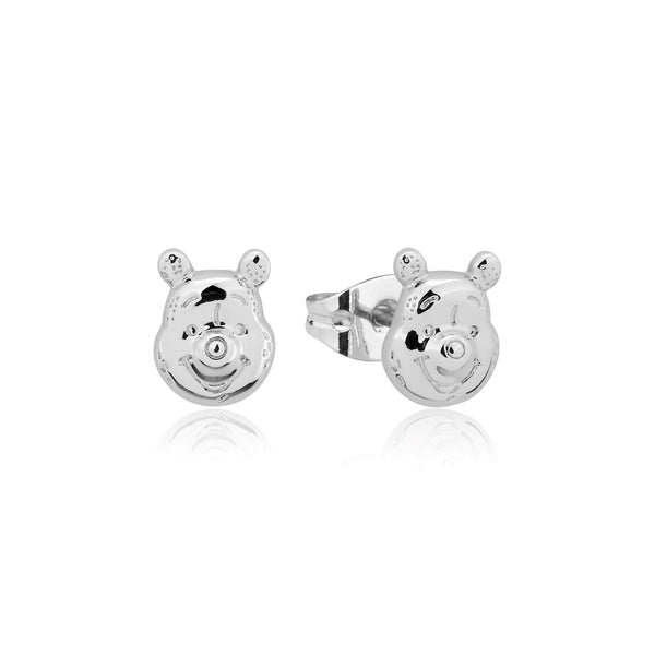 Disney_Couture_Kingdom_Winnie_The_Pooh_White_Gold_Stud_Earrings_DSE1020