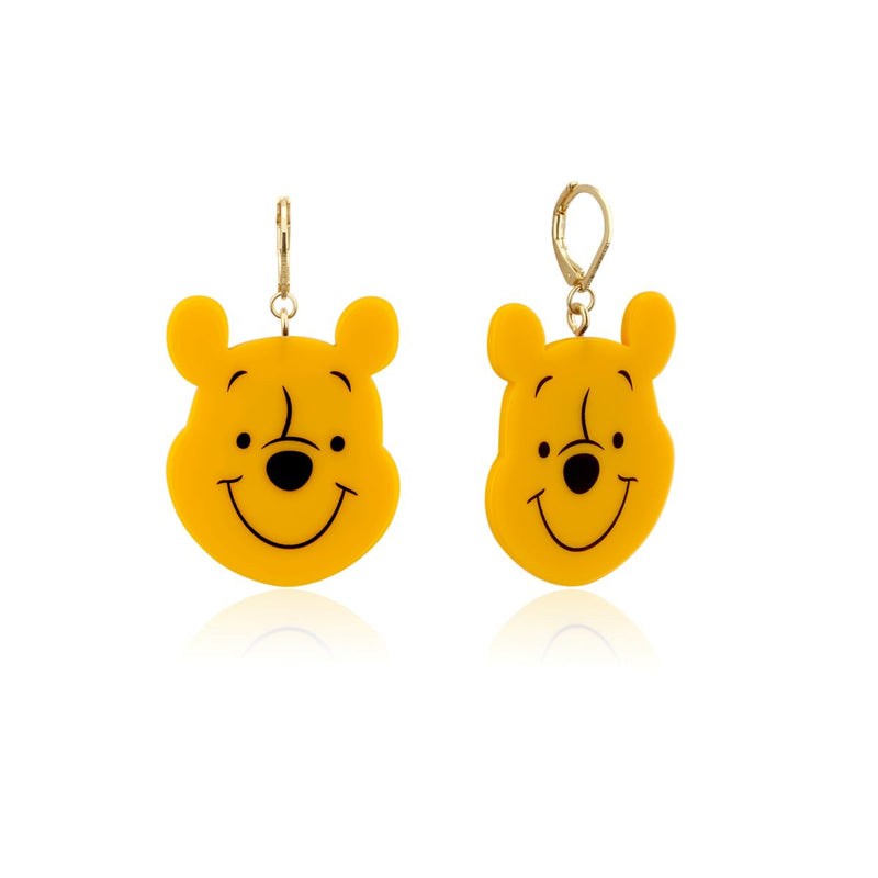 Disney_Couture_Kingdom_Winnie_The_Pooh_Yellow_Gold_Drop_Earrings_DYE1028
