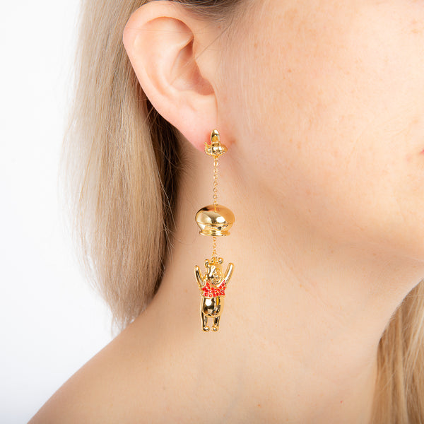Disney_Couture_Kingdom_Winnie_the_Pooh_Jewellery_Hunny_Drop_Earrings_on_model