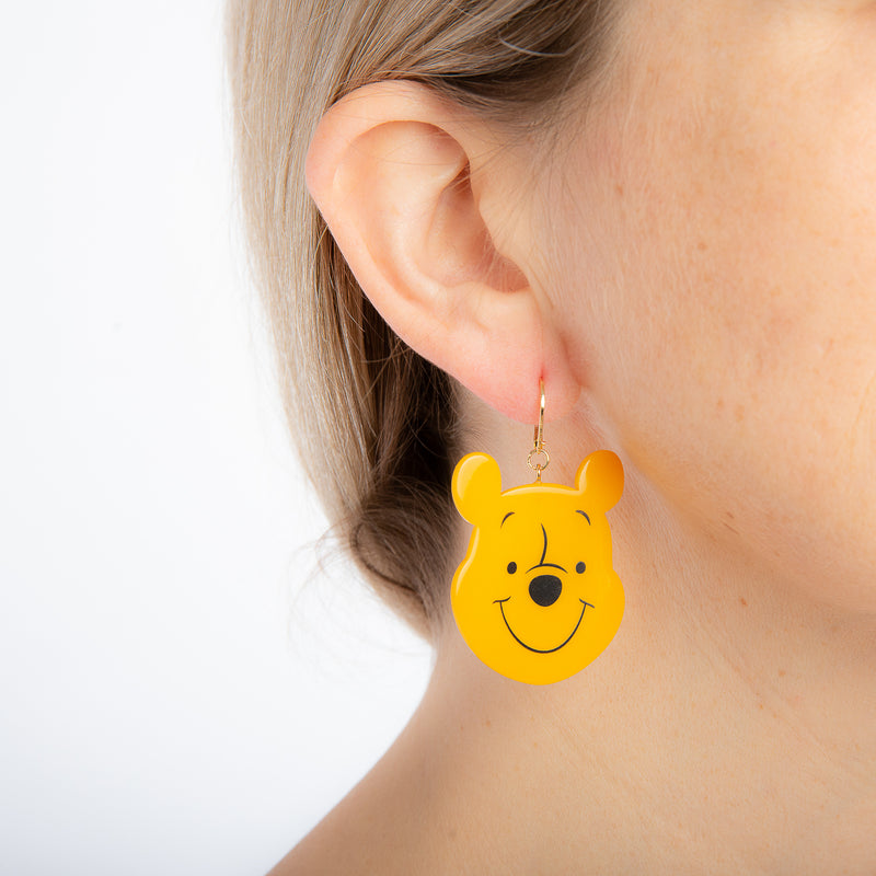 Disney Winnie the Pooh Oh Bother Drop Earrings