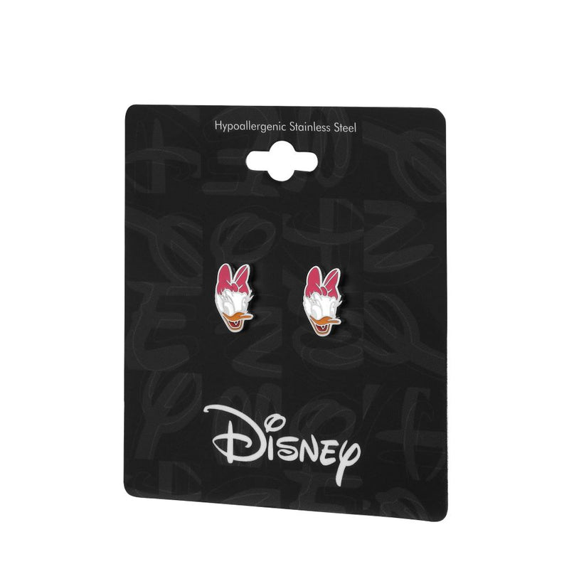 Disney ECC Daisy Duck Enamel Stud Earrings