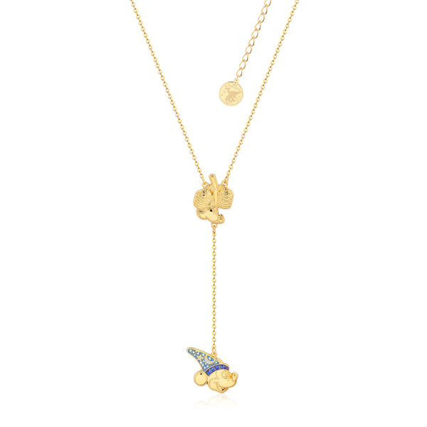 Disney_Fantasia_Mickey_Mouse_Sorcerers_Apprentice_Yellow_Gold_Crystal_Lariat_Necklace_Couture_Kingdom
