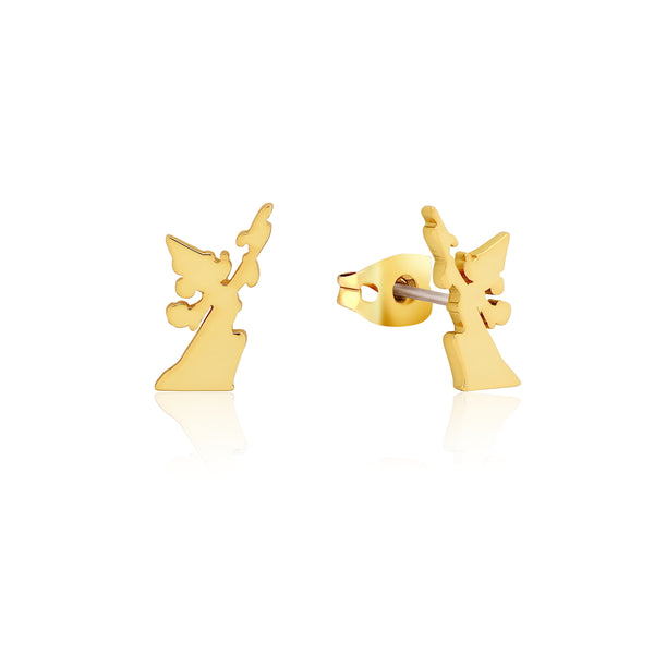 Disney_Fantasia_Mickey_Mouse_Sorcerers_Apprentice_Yellow_Gold_Stud_Earrings_Couture_Kingdom_DYE1036