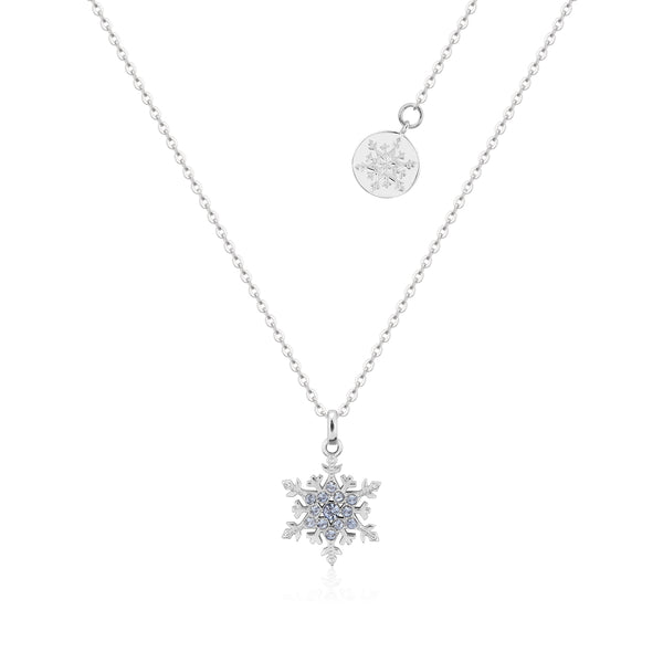 Disney Frozen 2 Elsa Crystal Snowflake Necklace