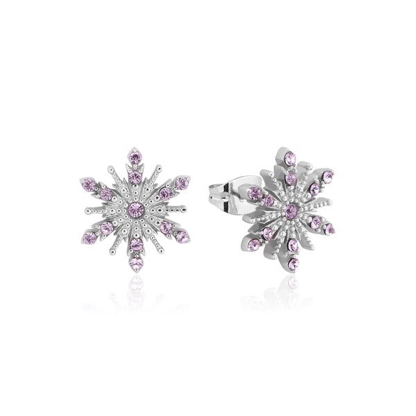 Disney Frozen 2 Anna Crystal Snowflake Stud Earrings