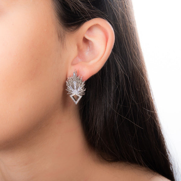Disney Frozen 2 Elsa Ice Crystal Earrings