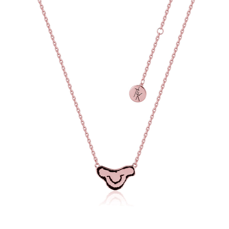 Disney-The-Lion-King-Kids-Simba-Rose-Gold-Necklace