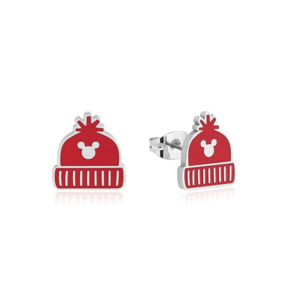 Disney_Mickey_Mouse_Holiday_Beanie_Stud_Earrings_Stainless_Steel__Couture_Kingdom_SPX002