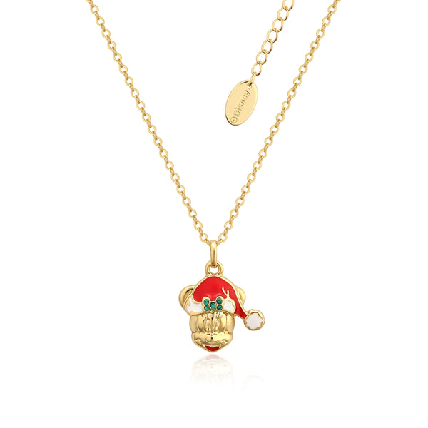 Disney_Minnie_Mouse_Holiday_Necklace_Yellow_Gold_Couture_Kingdom_DCN003