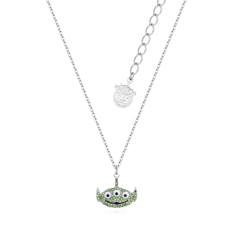 Disney_Pixar_Toy_Story_White_Gold_Crystal_Alien_Necklace_Couture_Kingdom_Front_View_DSN1004