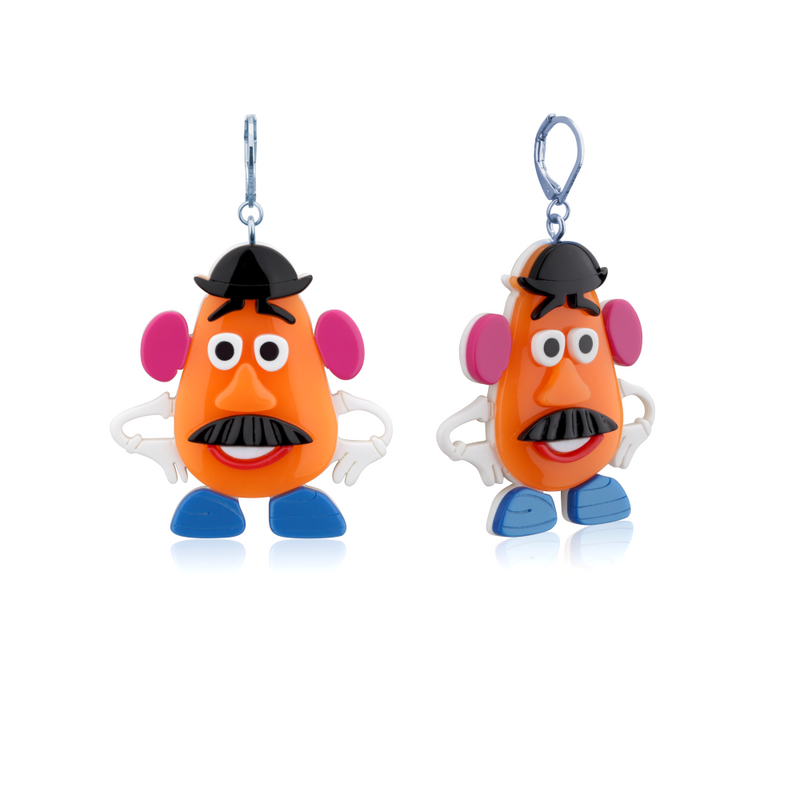 Disney_Pixar_Toy_Story_White_Gold_Mr_Potato_Head_Earrings_Couture_Kingdom_DSE1010